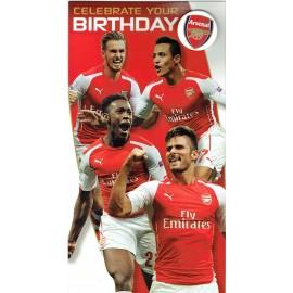 Arsenal Картичка за рожден ден играчи