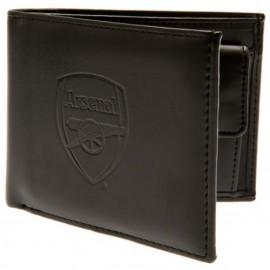 Arsenal  Кожен портфейл-черен