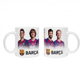Barcelona FC Чаша играчи бяла