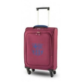 Barcelona FC Suitcase 4 wheels red