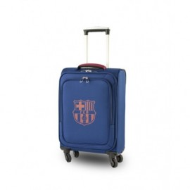 Barcelona FC Suitcase 4 wheels navy