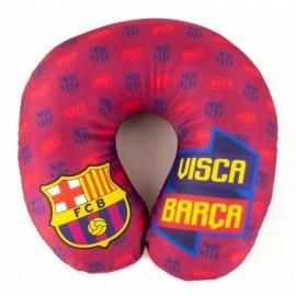 Barcelona FC Възглавница за пътуване червена