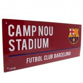 Barcelona FC Метална табела