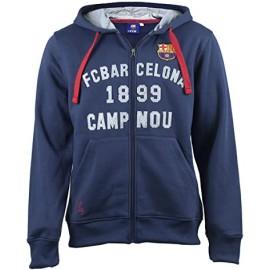 Barcelona FC Суичър с цип  и качулка
