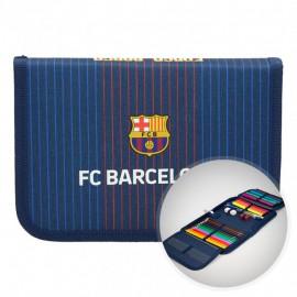 Barcelona FC pencil case full