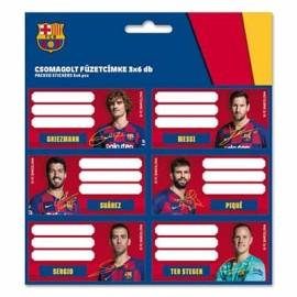 Barcelona FC Етикети