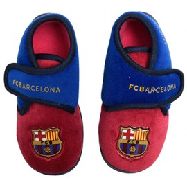 Barcelona FC baby slippers
