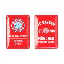 Bayern Munchen Метални табелки 2 бр.
