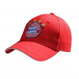 Bayern Munchen FC шапка с козирка червена