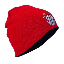 Bayern Munchen  Плетена шапка двулицева