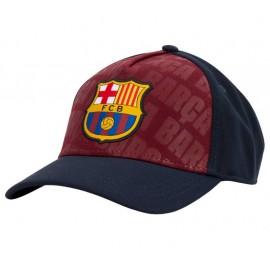 Barcelona  Шапка с козирка червено/синя