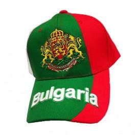 Bulgaria cap red