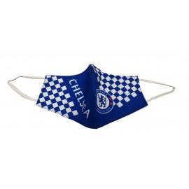 Chelsea FC Предпазна маска за лице синьо/бяла
