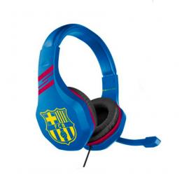 Barcelona FC Blue Headphones