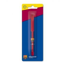 Barcelona FC Химикалка пластмасова с капаче