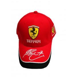 Ferrari cap red