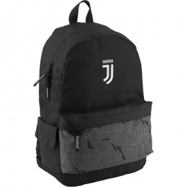 Juventus FC  Раница черна със сиво.