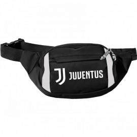 Juventus FC чантичка за кръста черна със сиво