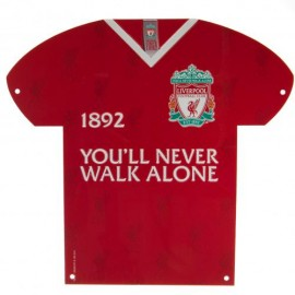 Liverpool F.C. Metal Shirt Sign