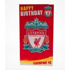 Liverpool F.C. Christmas card