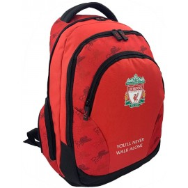 Liverpool FC School Backpack red