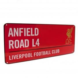 Liverpool FC Метална табела червена