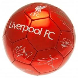 Liverpool Топка с  подписи