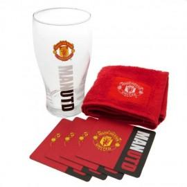 Manchester United Стъклена чаша  комплект