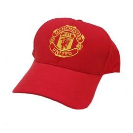 Manchester United Шапка с козирка-червена