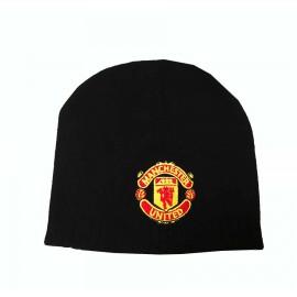 Manchester United Плетена шапка черна