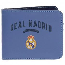 Real Madrid  Портфейл светло син