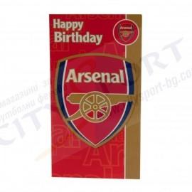 Arsenal FC Картичка за рожден ден