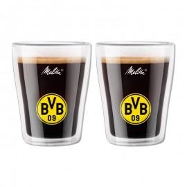 Borussia Dortmund  Coffee Glasses 2 pcs
