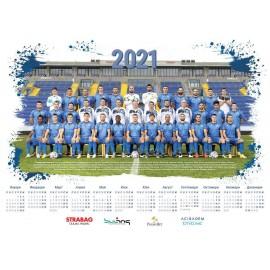 Левски Календар  Еднолистов 2021